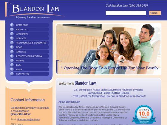Blandon Law