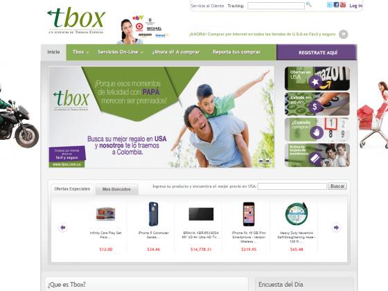 Tbox Un Servicio de Thomas Express